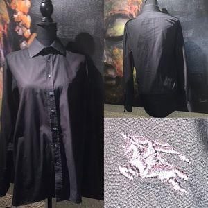 Burberry London shirt mens size 16 1/2 Large